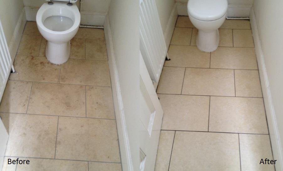 Bathroom floor cleaning Bromley